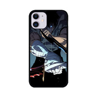 Manhwa Solo Leveling Sung Jin Woo Assassins iPhone 11 Case
