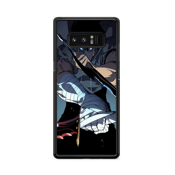 Manhwa Solo Leveling Sung Jin Woo Assassins Samsung Galaxy Note 8 Case