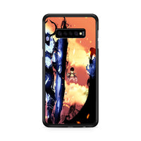 Manhwa Solo Leveling Sung Jin Woo Igris Iron Samsung Galaxy S10 Plus Case