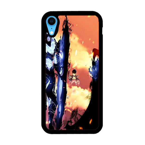 Manhwa Solo Leveling Sung Jin Woo Igris Iron iPhone XR Case