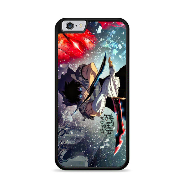 Manhwa Solo Leveling Sung Jin Woo Level S iPhone 6|6S Case