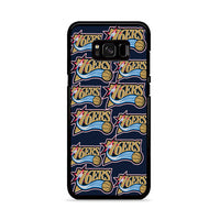 Basket Ball 76Ers Nba_ Samsung Galaxy S8 Case