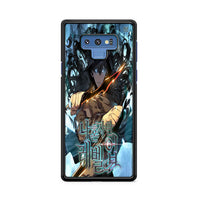 Manhwa Solo Leveling Sung Jin Woo Poster Samsung Galaxy Note 9 Case