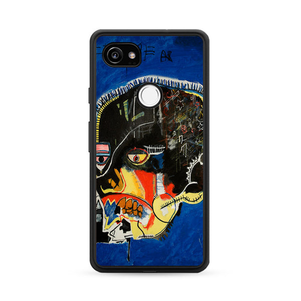 Basquiat Canvas Art_ Google Pixel 2 XL Case
