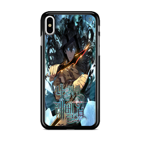 Manhwa Solo Leveling Sung Jin Woo Poster iPhone XS Case