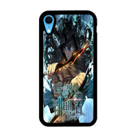 Manhwa Solo Leveling Sung Jin Woo Poster iPhone XR Case