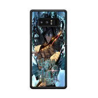 Manhwa Solo Leveling Sung Jin Woo Poster Samsung Galaxy Note 8 Case