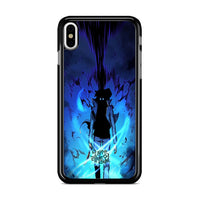 Manhwa Solo Leveling Sung Jin Woo Power iPhone XS Case