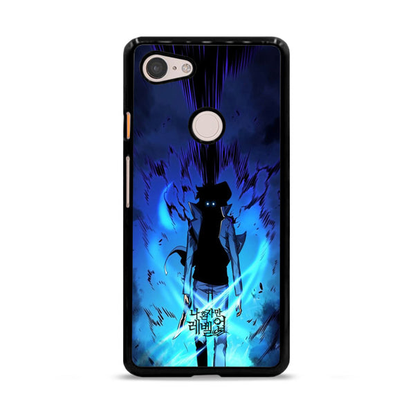 Manhwa Solo Leveling Sung Jin Woo Power Google Pixel 3 XL Case