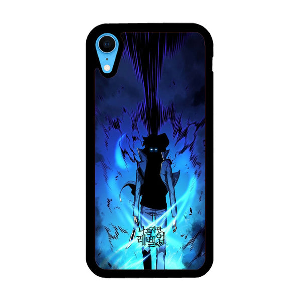 Manhwa Solo Leveling Sung Jin Woo Power iPhone XR Case