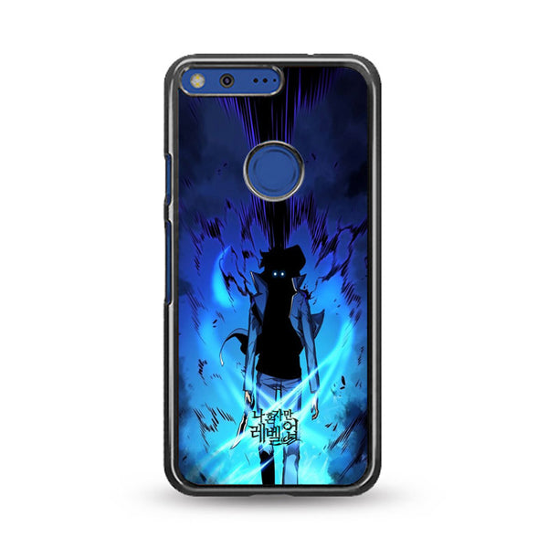 Manhwa Solo Leveling Sung Jin Woo Power Google Pixel Case