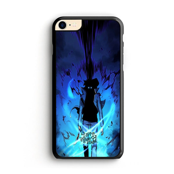 Manhwa Solo Leveling Sung Jin Woo Power iPhone 7 Case