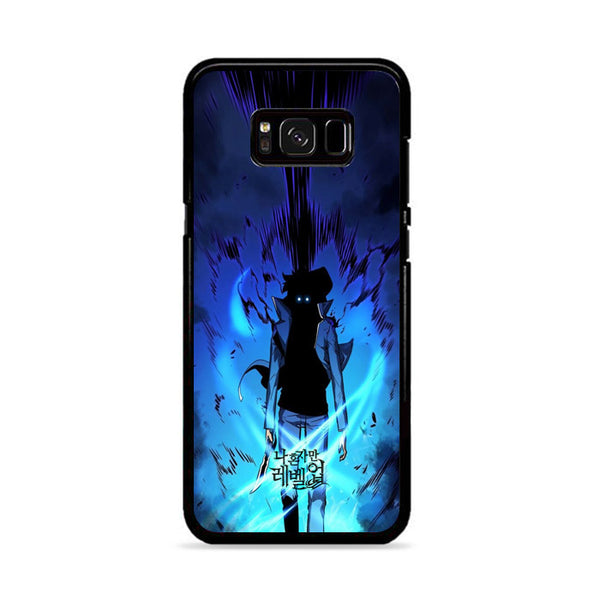 Manhwa Solo Leveling Sung Jin Woo Power Samsung Galaxy S8 Plus Case
