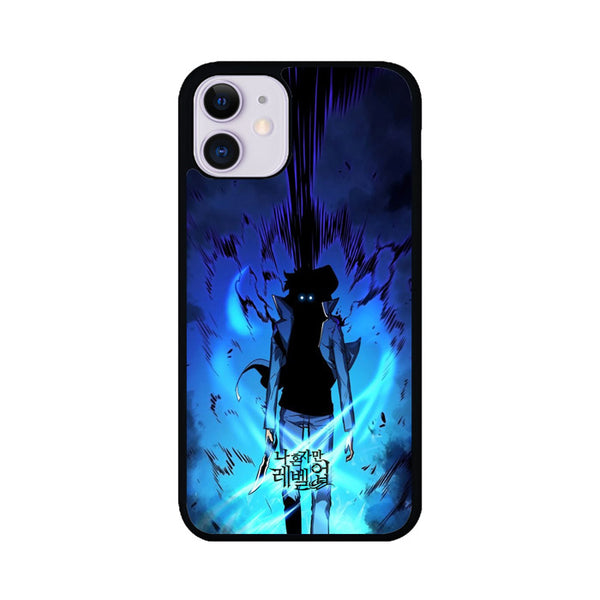 Manhwa Solo Leveling Sung Jin Woo Power iPhone 11 Case