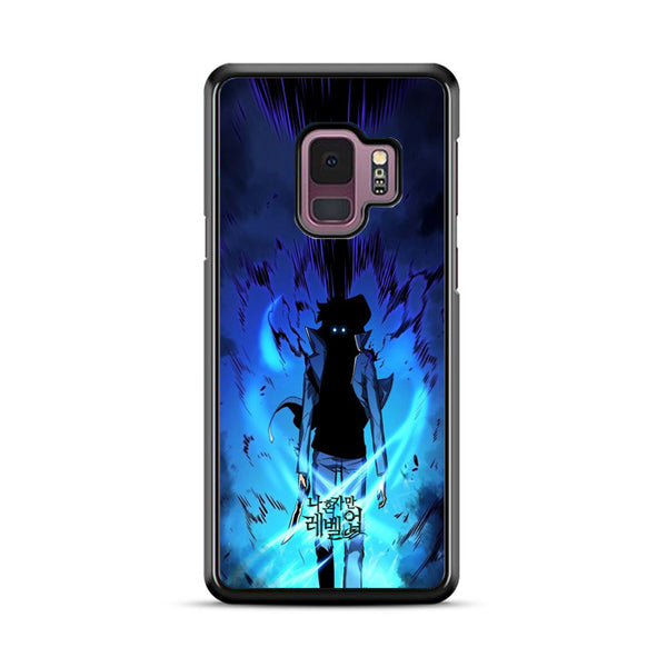 Manhwa Solo Leveling Sung Jin Woo Power Samsung Galaxy S9 Case