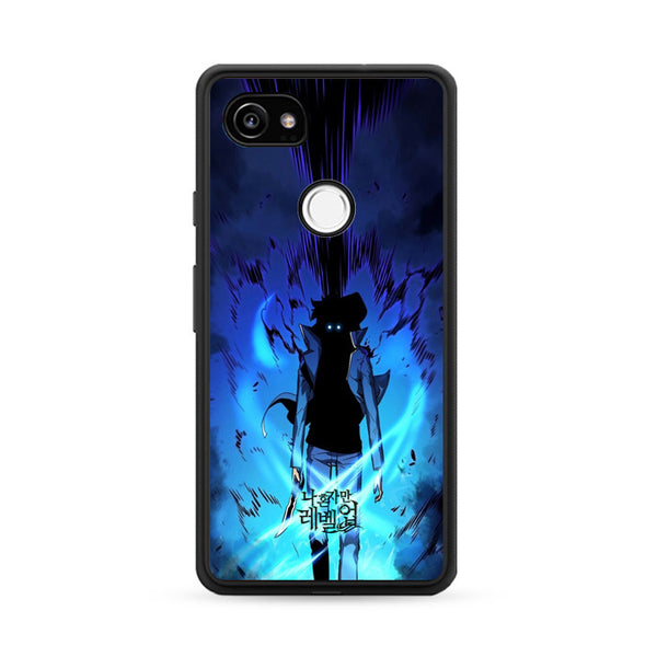 Manhwa Solo Leveling Sung Jin Woo Power Google Pixel 2 Case
