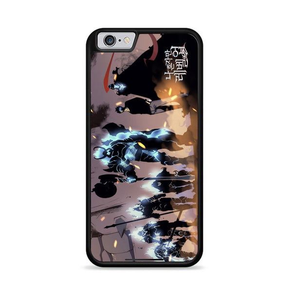 Manhwa Solo Leveling Sung Jin Woo Shadow Army iPhone 6 Plus|6S Plus Case