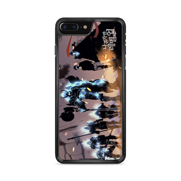 Manhwa Solo Leveling Sung Jin Woo Shadow Army iPhone 7 Plus Case