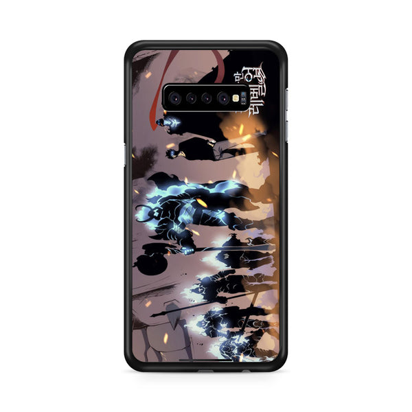 Manhwa Solo Leveling Sung Jin Woo Shadow Army Samsung Galaxy S10 Case