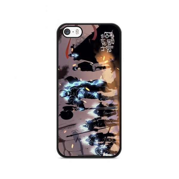 Manhwa Solo Leveling Sung Jin Woo Shadow Army iPhone 5|5S|SE Case