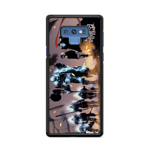 Manhwa Solo Leveling Sung Jin Woo Shadow Army Samsung Galaxy Note 9 Case