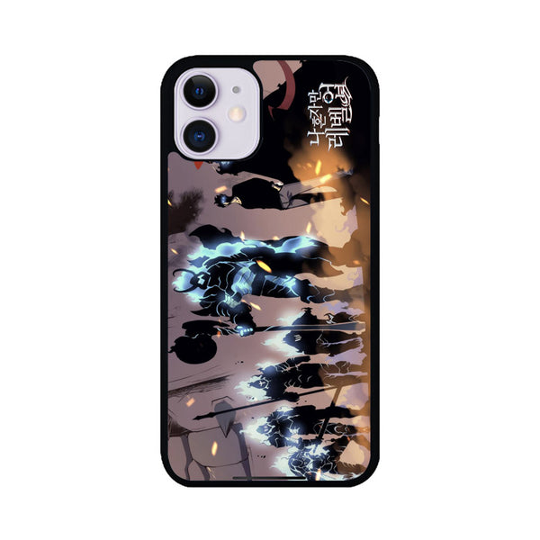 Manhwa Solo Leveling Sung Jin Woo Shadow Army iPhone 11 Case