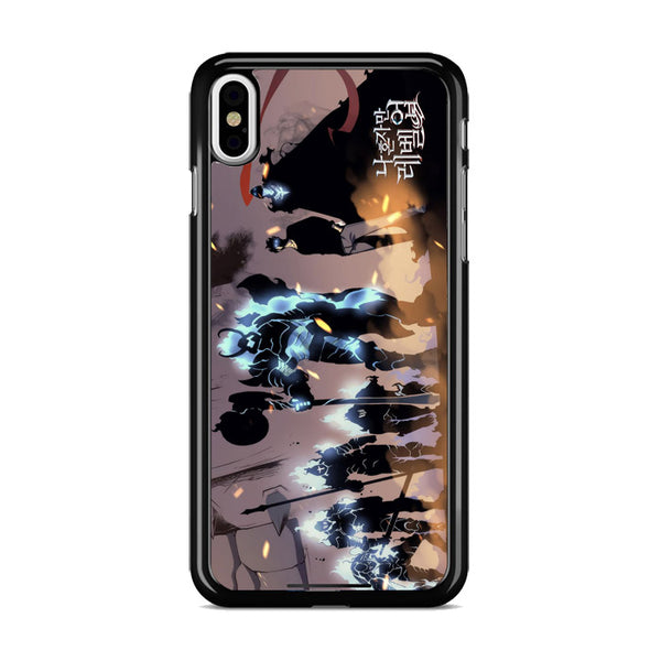 Manhwa Solo Leveling Sung Jin Woo Shadow Army iPhone X Case
