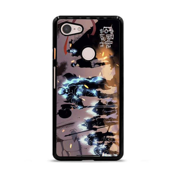 Manhwa Solo Leveling Sung Jin Woo Shadow Army Google Pixel 3 Case