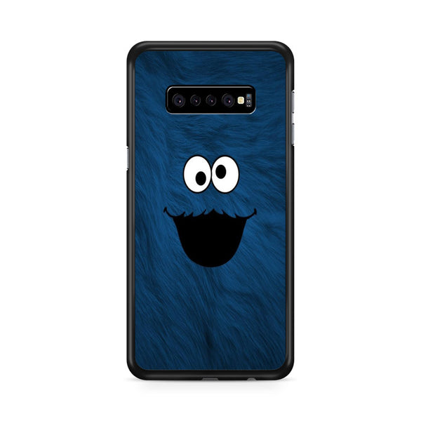Funny Sesame Street Blue Face Puppet Samsung Galaxy S10e Case