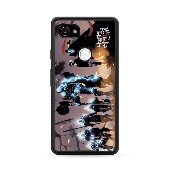 Manhwa Solo Leveling Sung Jin Woo Shadow Army Google Pixel 2 Case