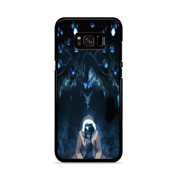 Manhwa Solo Leveling Sung Jin Woo Shadow Monarch Samsung Galaxy S8 Case