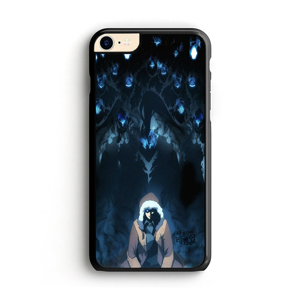 Manhwa Solo Leveling Sung Jin Woo Shadow Monarch iPhone 8 Case
