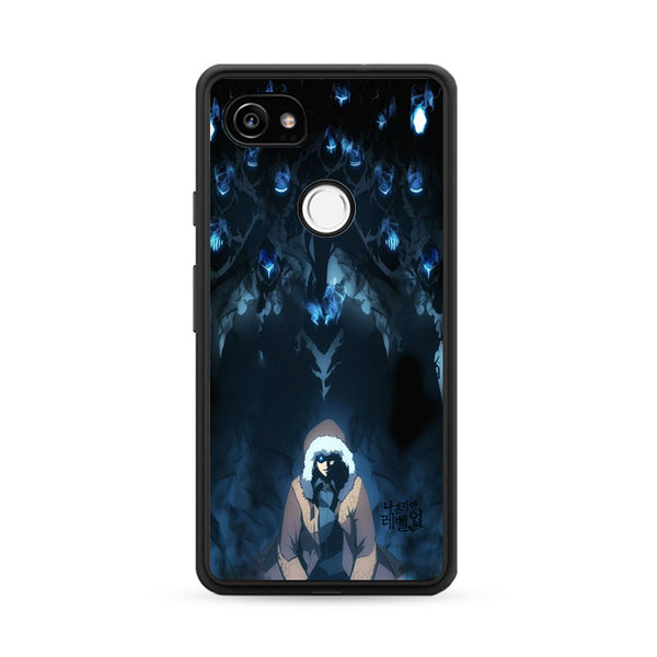 Manhwa Solo Leveling Sung Jin Woo Shadow Monarch Google Pixel 2 Case