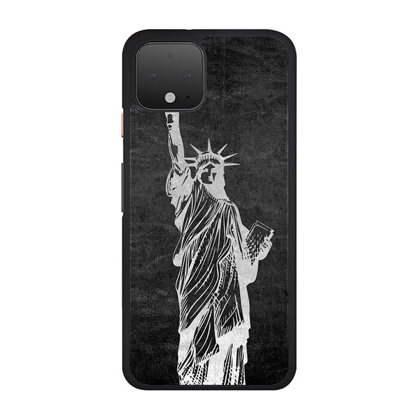Metallic Statue Of Liberty, Freedom Google Pixel 4 XL Case