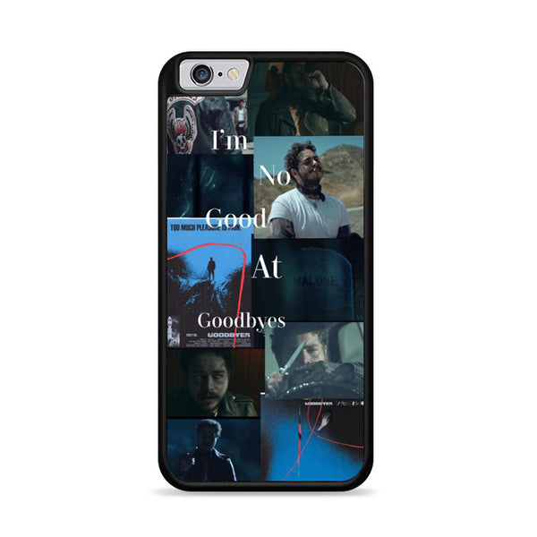 Collage Im No Good At Goodbye Postmalone iPhone 6|6S Case