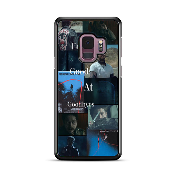 Collage Im No Good At Goodbye Postmalone Samsung Galaxy S9 Plus Case