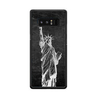 Metallic Statue Of Liberty, Freedom Samsung Galaxy Note 8 Case
