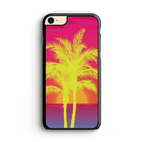 Neon Palm Trees X Island Sunset iPhone 7 Case