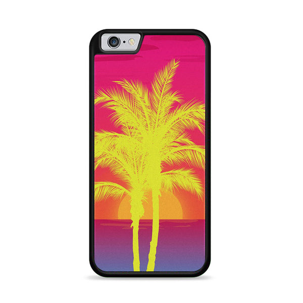 Neon Palm Trees X Island Sunset iPhone 6|6S Case