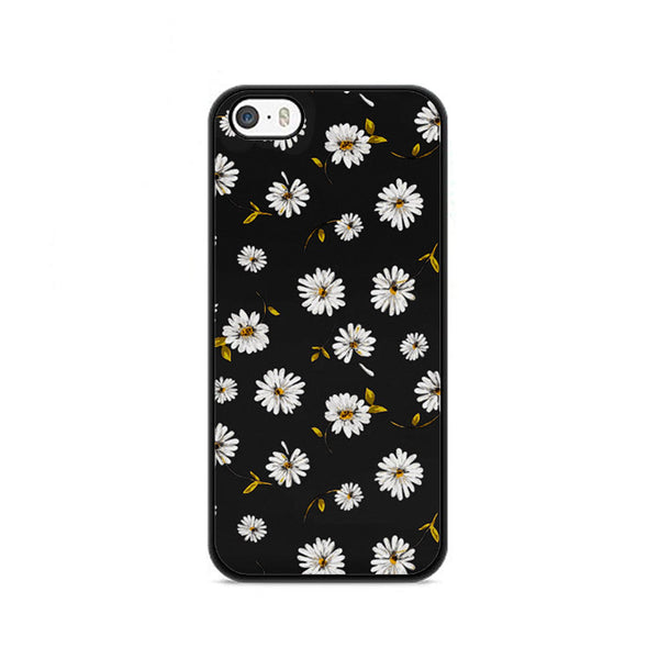 Noise Daisy Daydream Black Floral iPhone 5|5S|SE Case