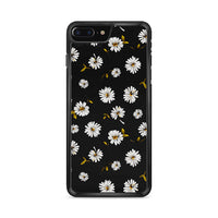 Noise Daisy Daydream Black Floral iPhone 7 Plus Case