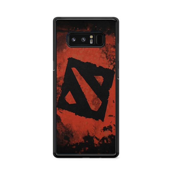 Dota 2 Red Background Samsung Galaxy Note 8 Case
