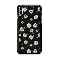 Noise Daisy Daydream Black Floral iPhone X Case