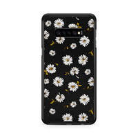 Noise Daisy Daydream Black Floral Samsung Galaxy S10 Plus Case