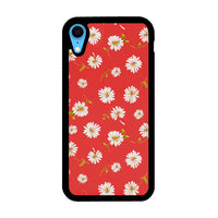 Noise Daisy Daydream Red Coral Floral iPhone XR Case