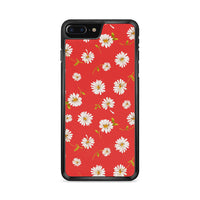 Noise Daisy Daydream Red Coral Floral iPhone 7 Plus Case