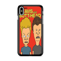 Beavis And Butt Head Mtv Classic_ iPhone XS Case
