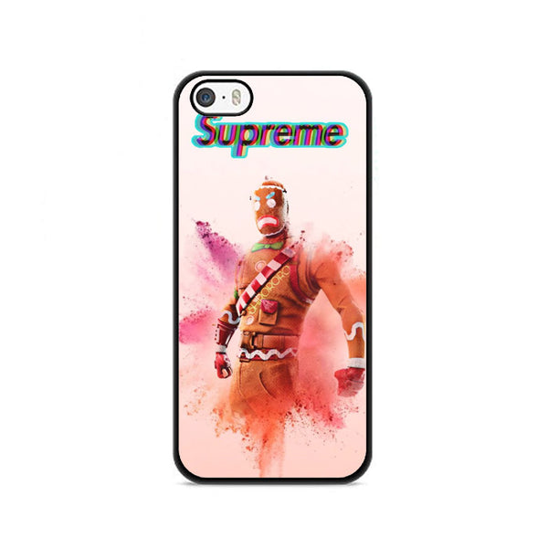 Fortnite Gingerbread Skins Hypebeast iPhone 5|5S|SE Case
