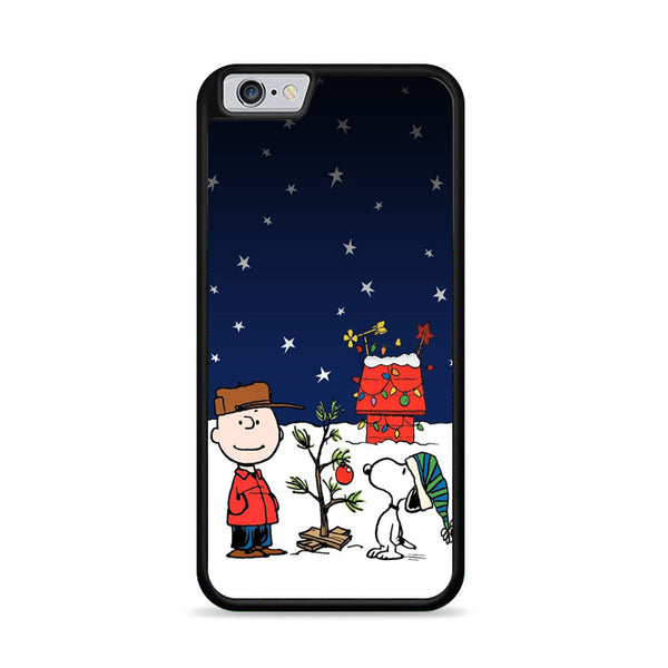 Merry Christmas Charlie Brown Snoopy Wallpaper iPhone 6|6S Case