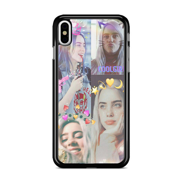 Billie Eilish Collage Prince_ iPhone X Case